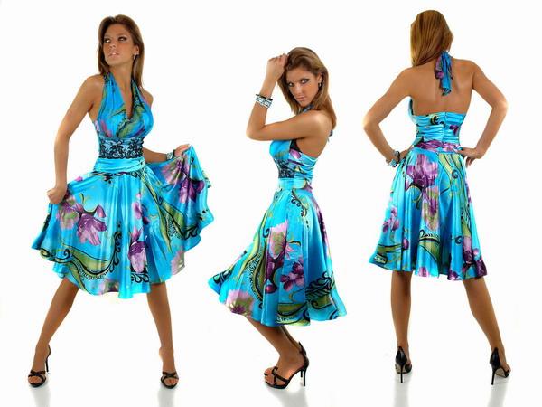 Летние яркие платья фото