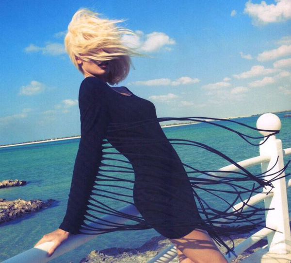 Эдита Вилкевичуте в H&M Magazine