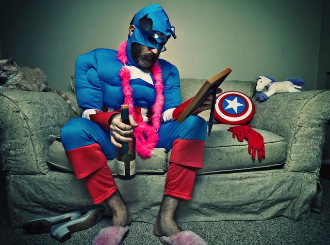 Повседневные дела стареющего супергероя