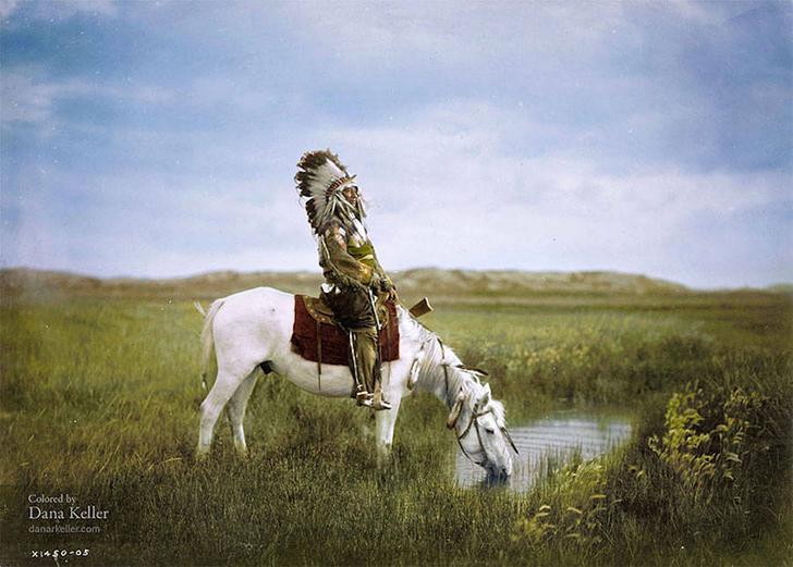 Цветная история или самые знаковые исторические кадры теперь и в цвете
