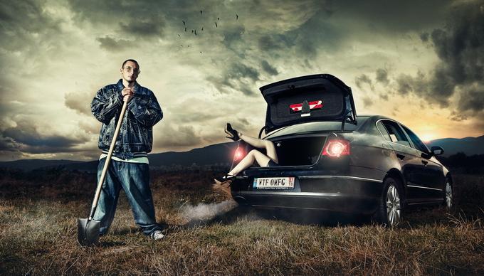 Креативный фотограф Daniel Ilinca ( фото )
