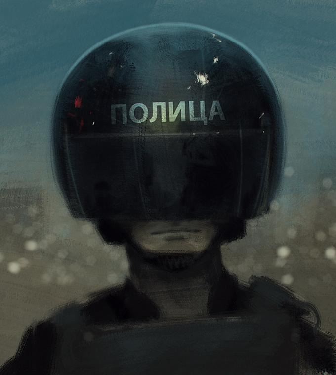 Художник Сергей Колесов - Peleng art ( 10 фото )