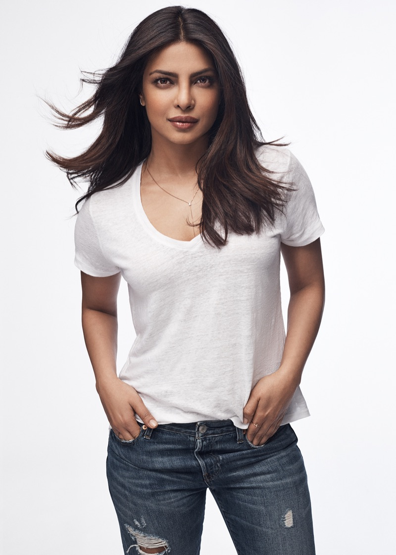 Модели и актрисы в рекламе Gap