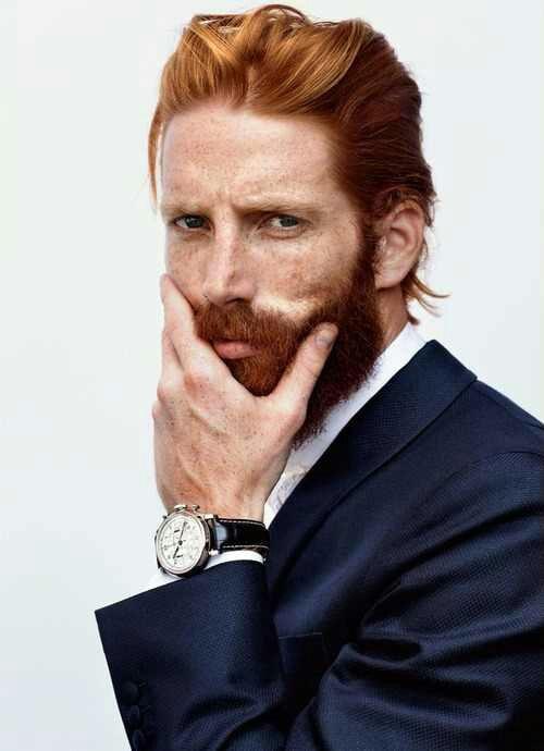Настоящий мужчина должен  буть с бородой