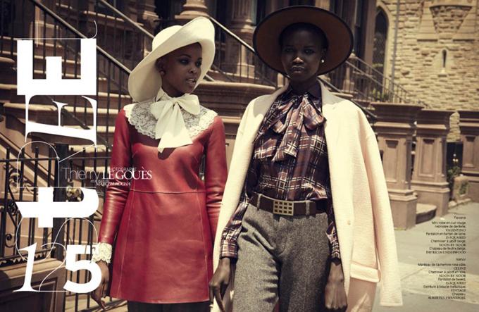 Гарлемская фотосессия в French  Revue de Modes