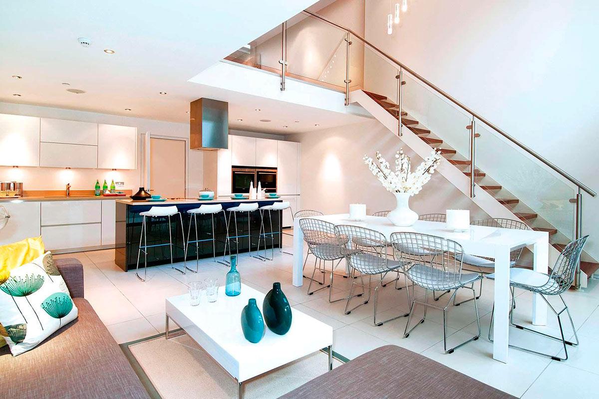 Дизайн интерьера таунхауса в Лондоне от LLI Design