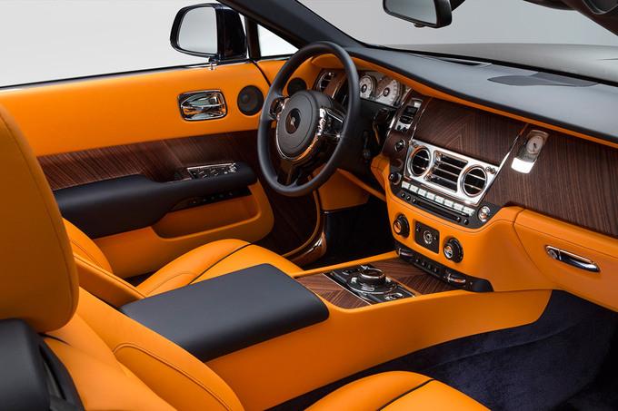 Новейший кабриолет от автомобильного флагмана Rolls-Royce