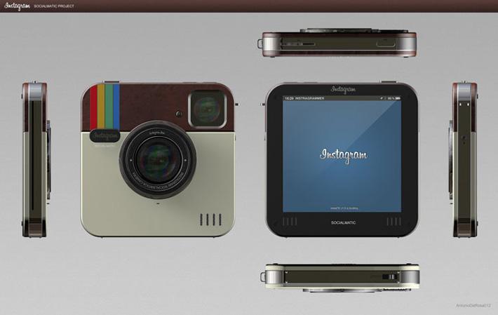 Камера  Instagram Socialmatic Camera - новая эра социальной фотографии!