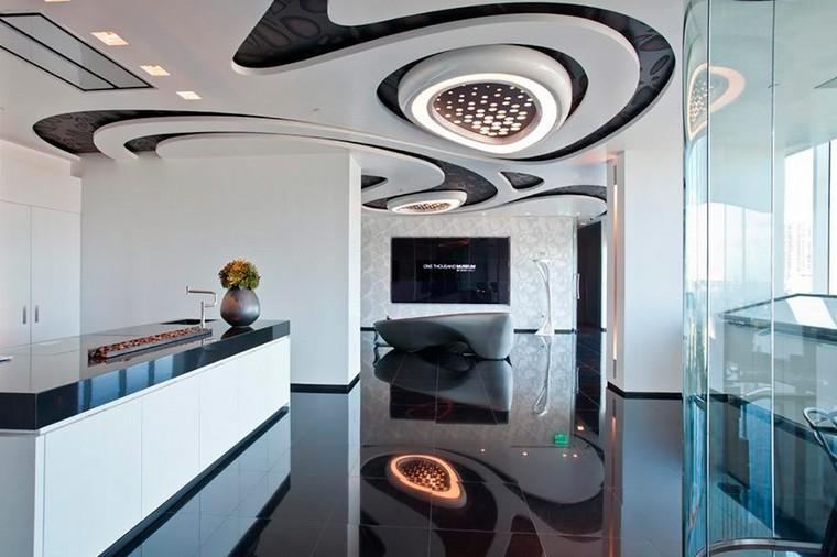 Дизайн офиса продаж в небоскрёбе  One Thousand Museum от Zaha Hadid