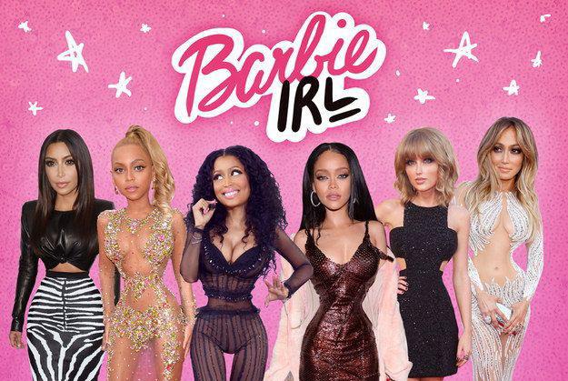 Как голливудские знаменитости выглядят в теле Барби