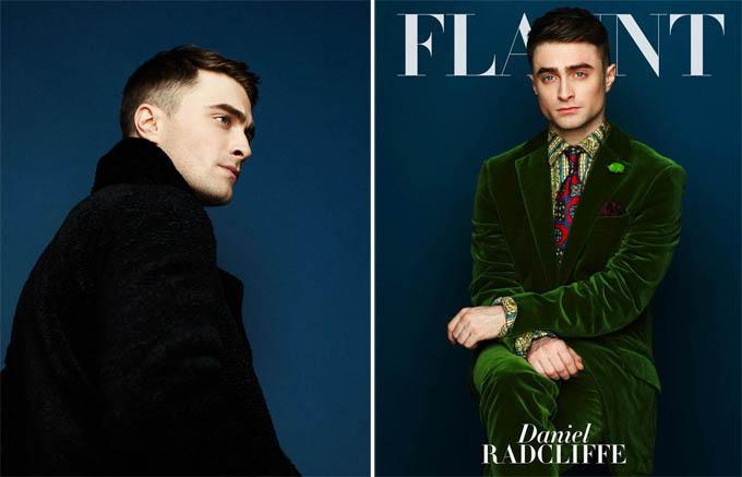 Дэниэл Рэдклифф на обложке Flaunt  Magazine
